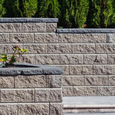 Retaining Wall- Allan Block
